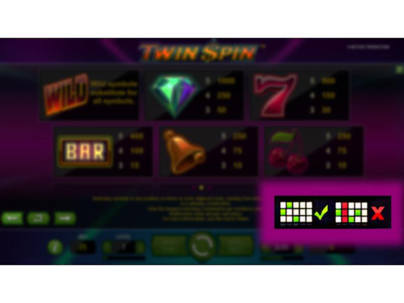 Twin Spin online za skutečné peníze#