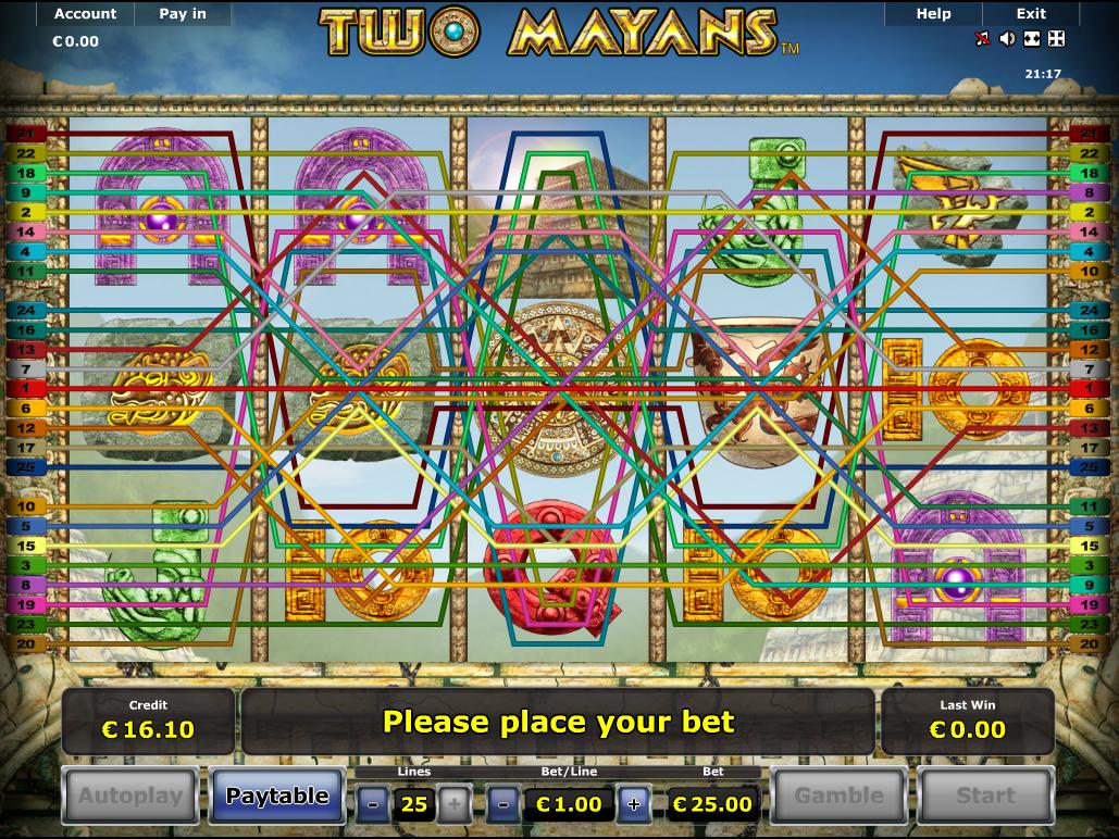 Jetzt Two Mayans online spielen
