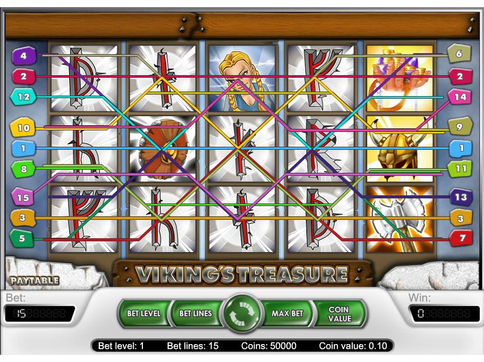 Jetzt Viking's Treasure online spielen