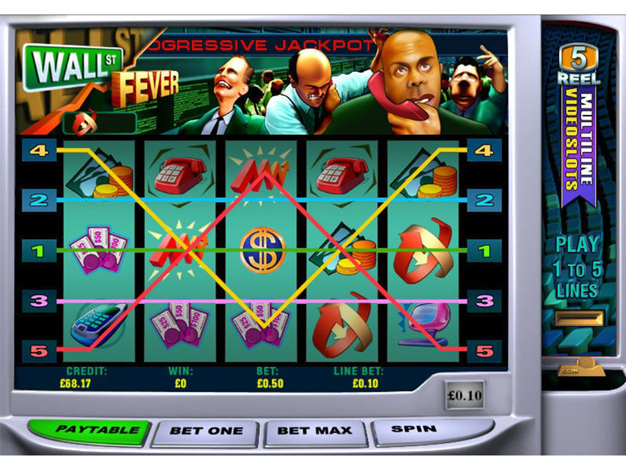 play Wall Street Fever online