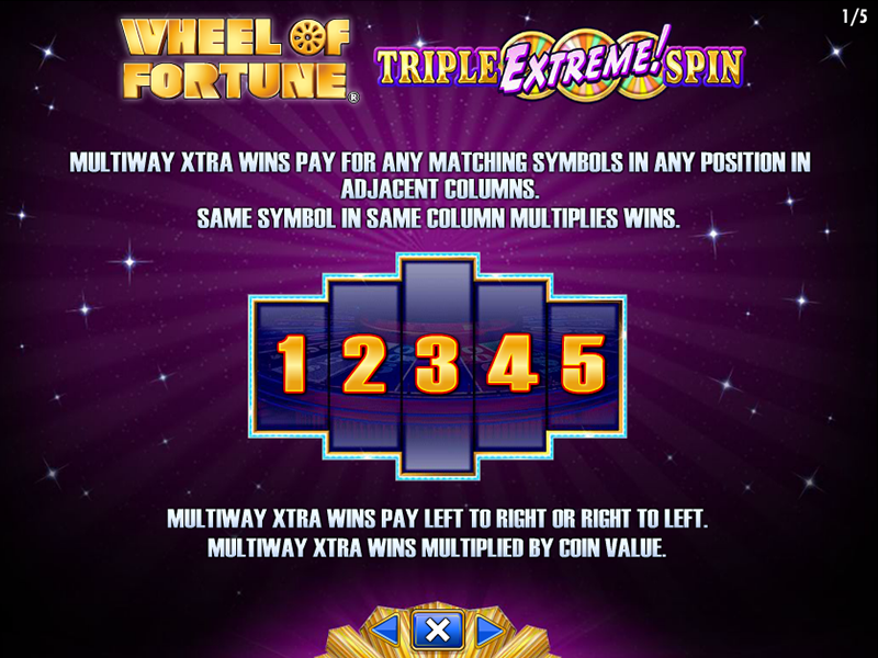 play Wheel Of Fortune: Triple Extreme Spin online