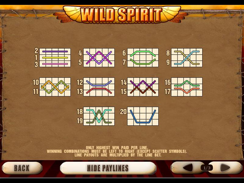 play Wild Spirit online