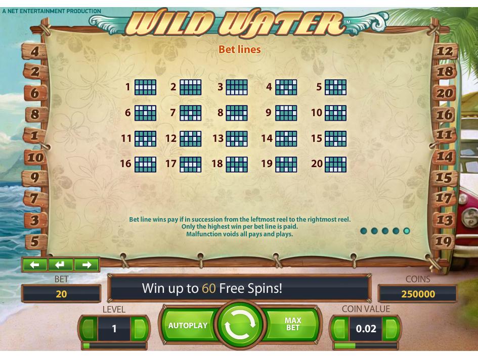 Jetzt Wild Water online spielen