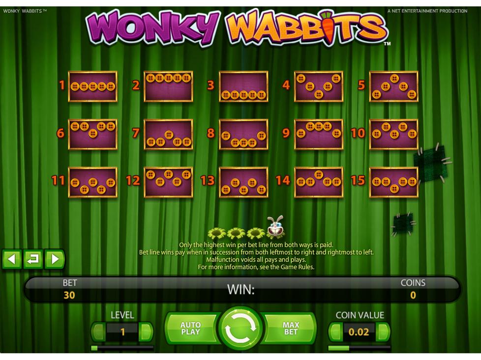 Jetzt Wonky Wabbits online spielen