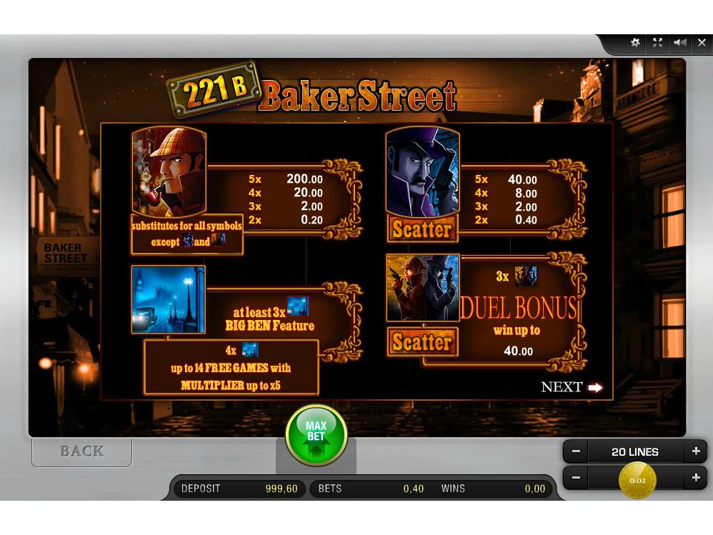 221B Baker Street online kostenlos