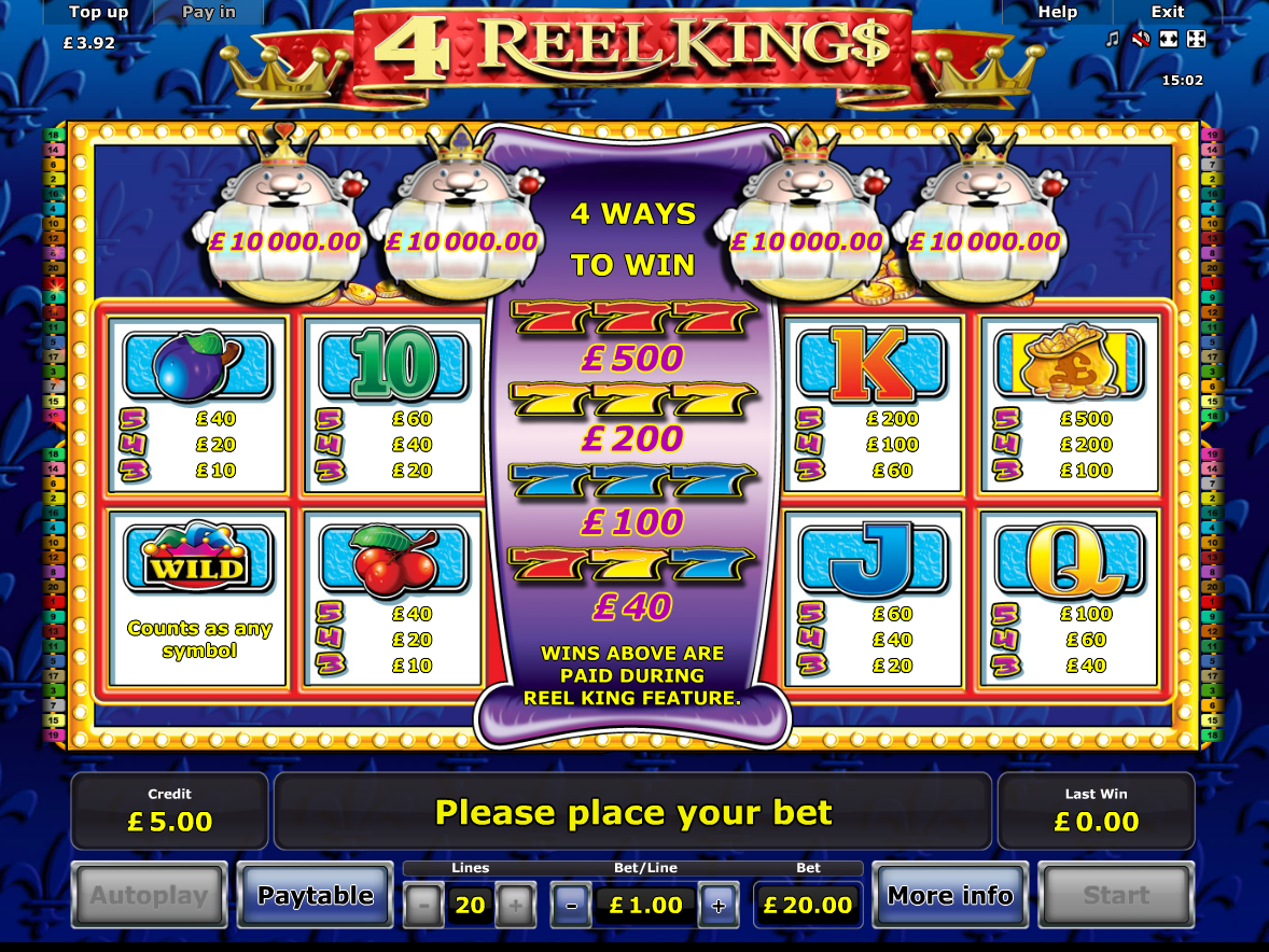 4 Reel Kings online free