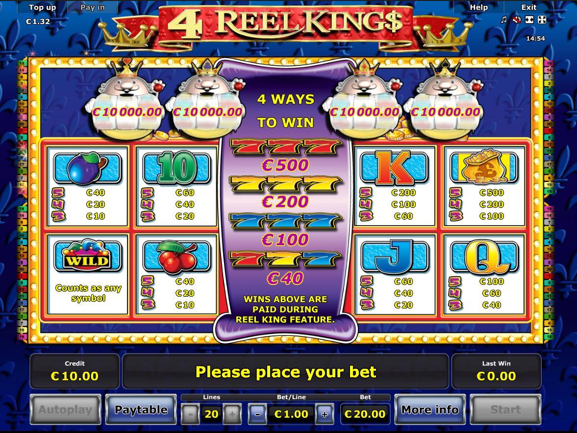 4 Reel Kings online kostenlos