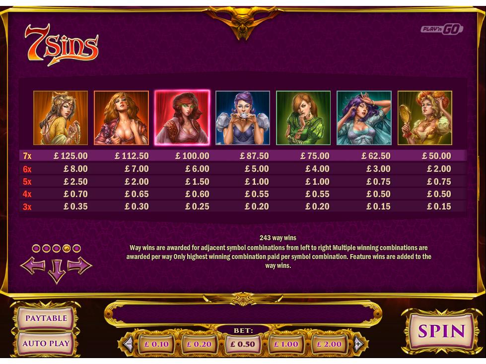 7 Sins online gratis