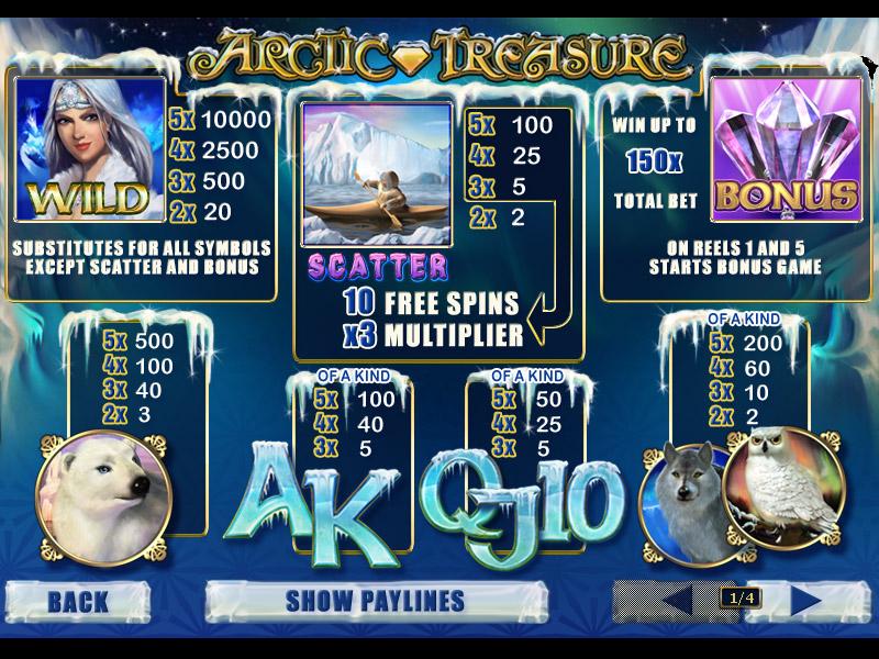 Arctic Treasure online free