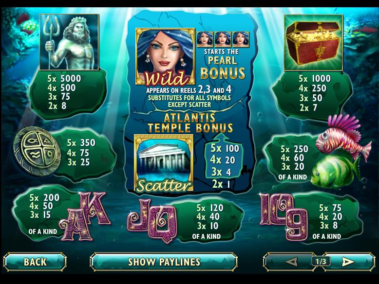 Atlantis Queen online gratis