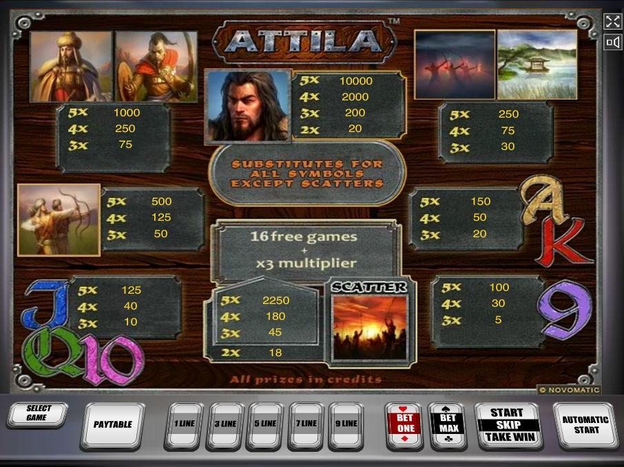 Attila online kostenlos