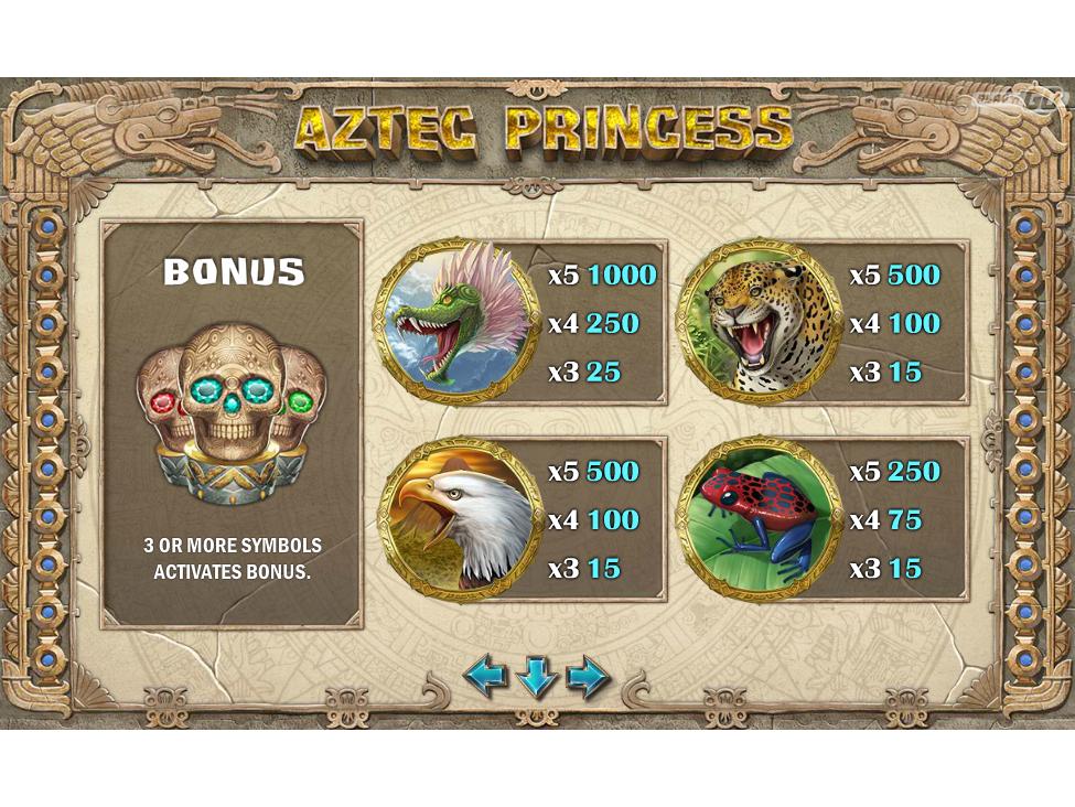 Aztec Princess online gratis