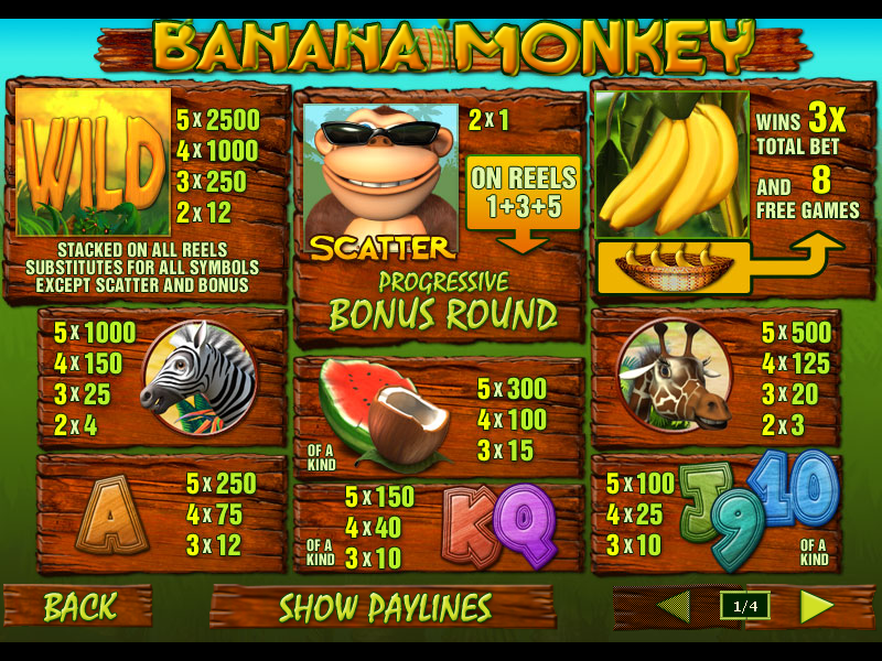 Banana Monkey online gratis