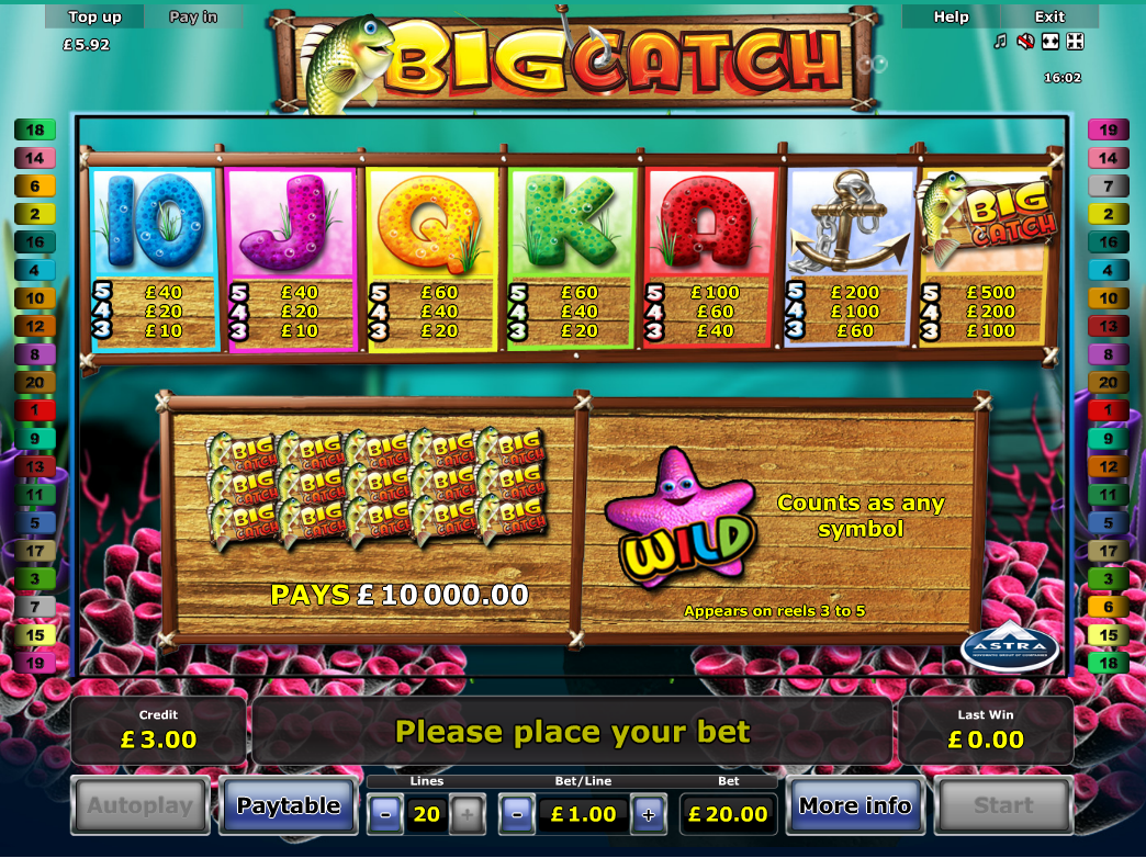 Big Catch online free