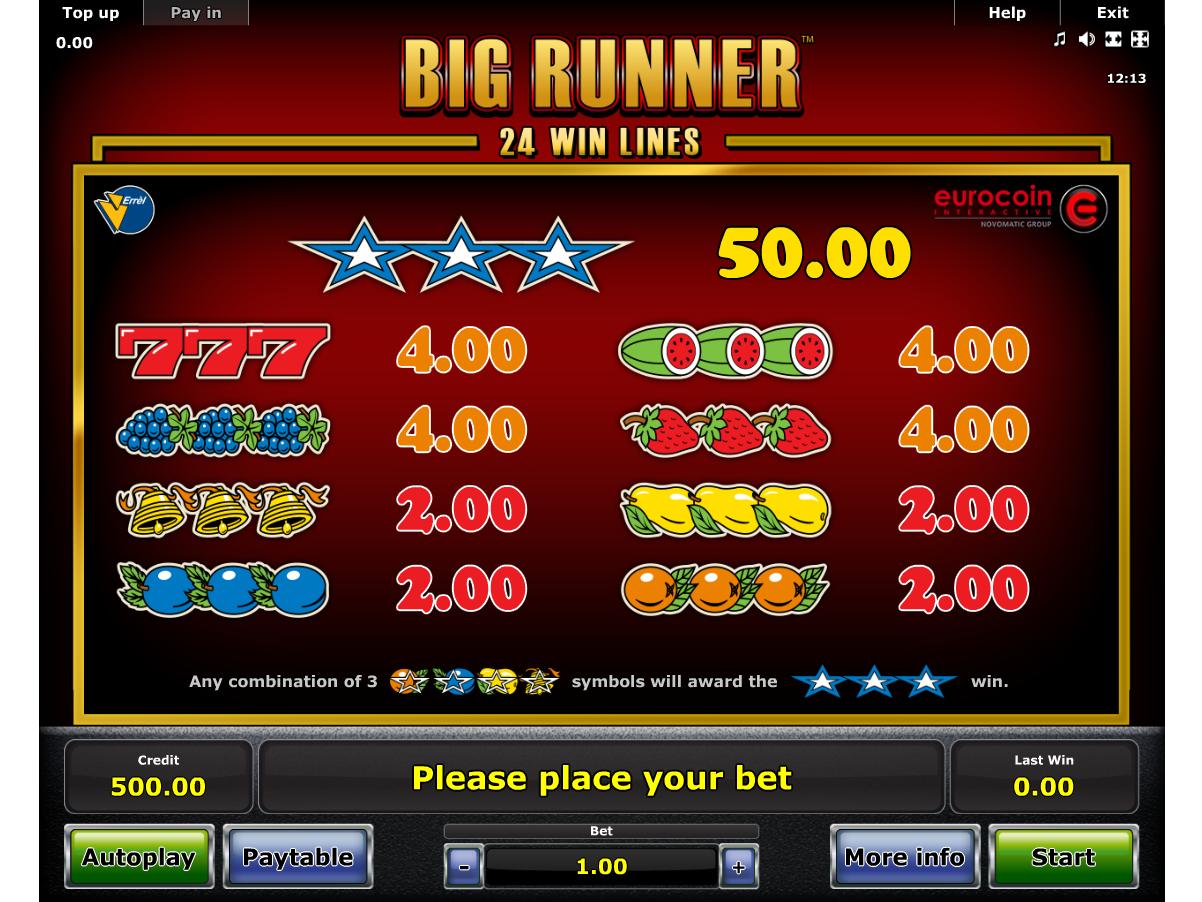 Big Runner online gratis