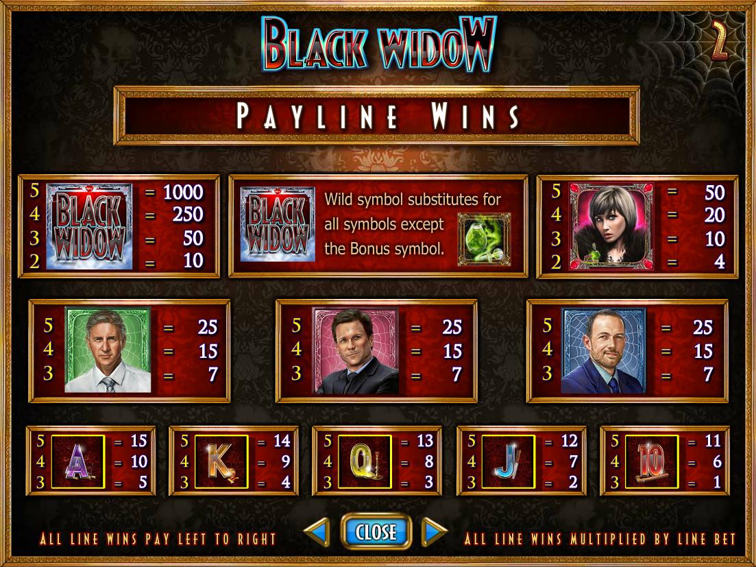 Black Widow online gratis