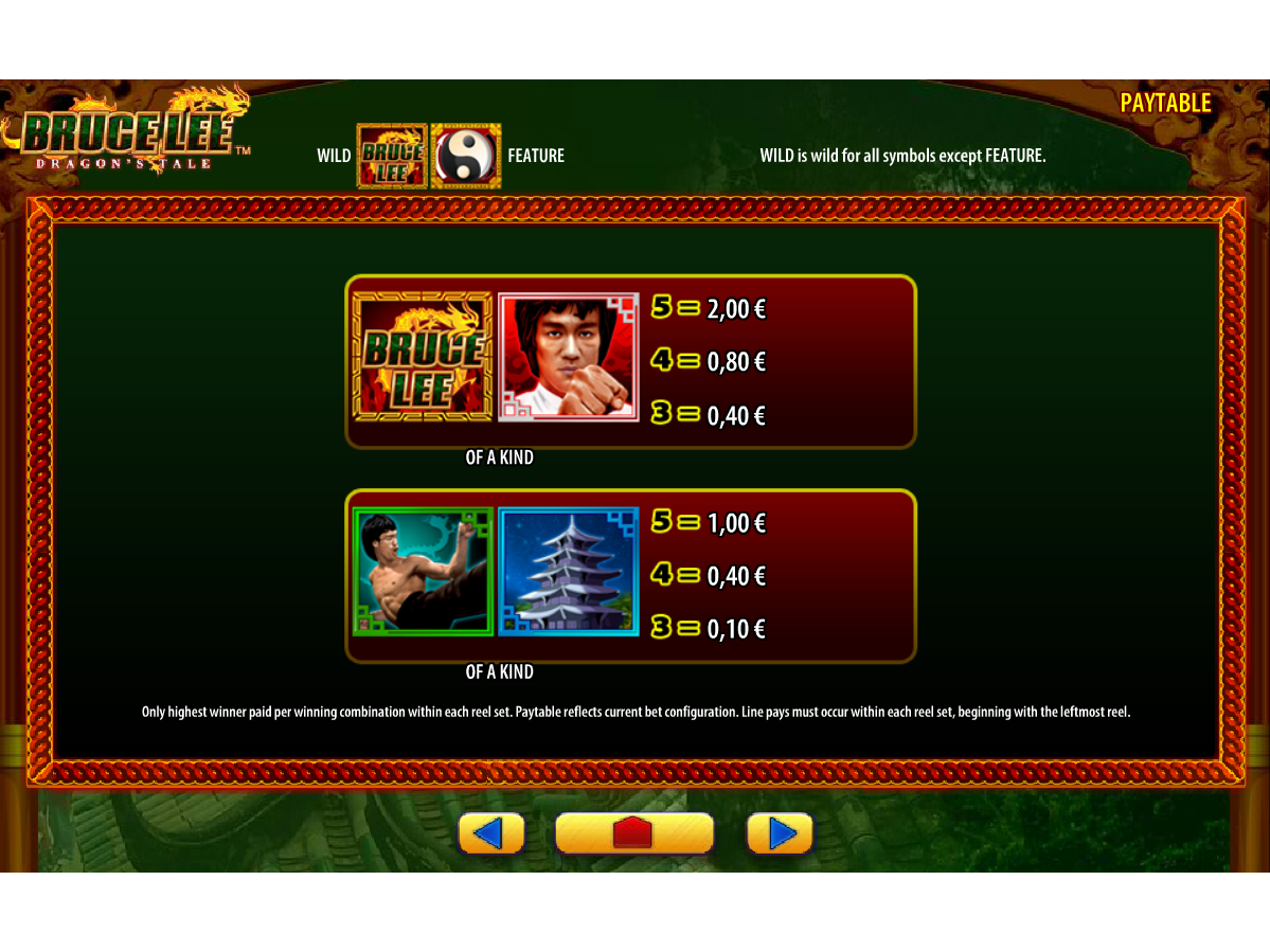 Bruce Lee: Fire of the Dragon online kostenlos
