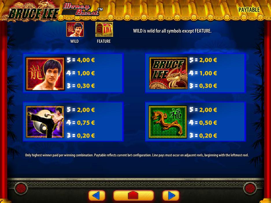 Bruce Lee online kostenlos