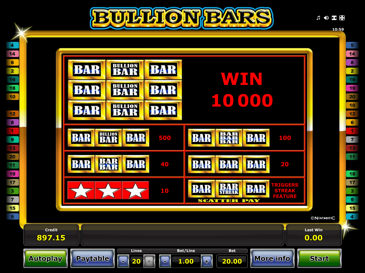 Bullion Bars online free