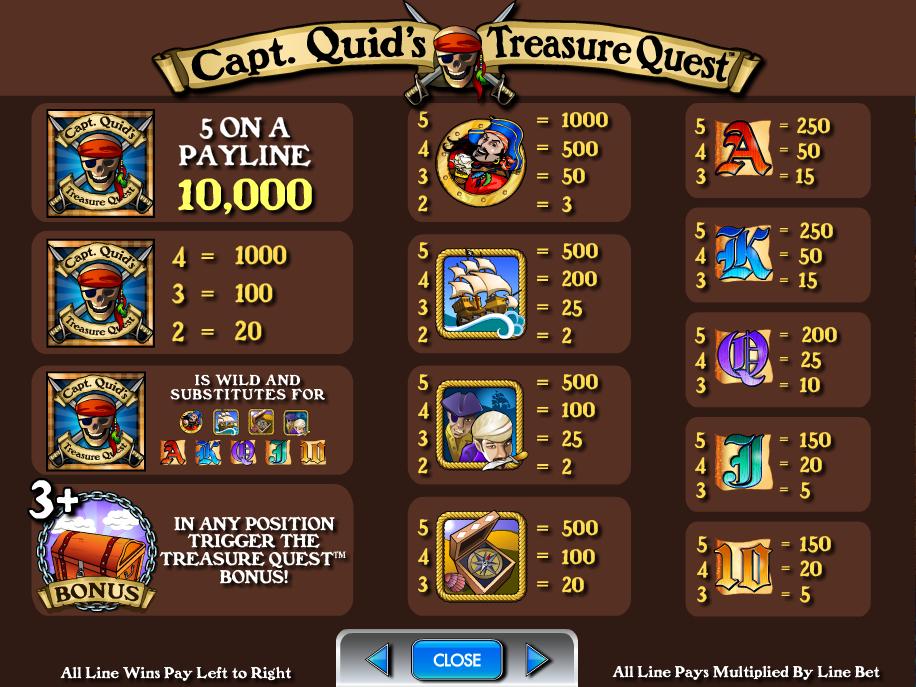 Captain Quid's Treasure Quest online gratis