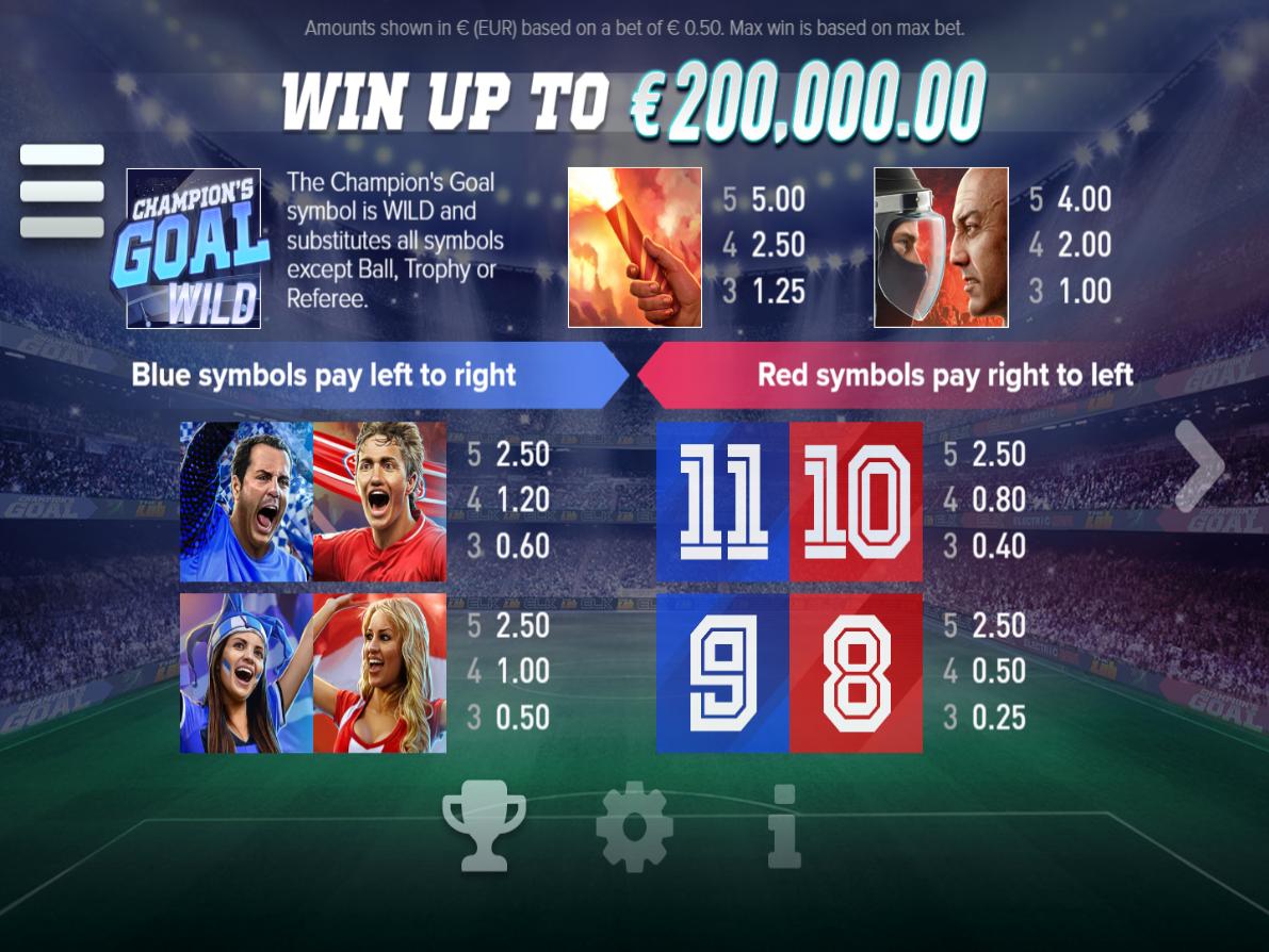 Champion's Goal online kostenlos