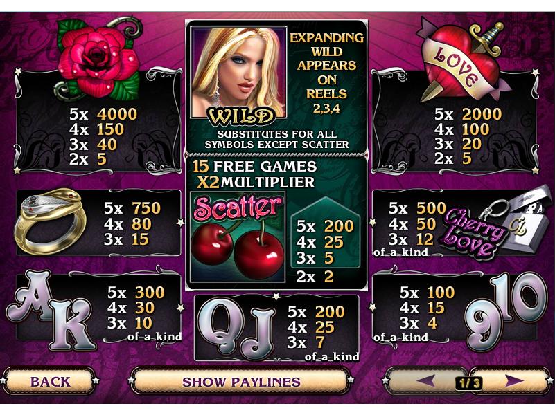 Cherry Love online free