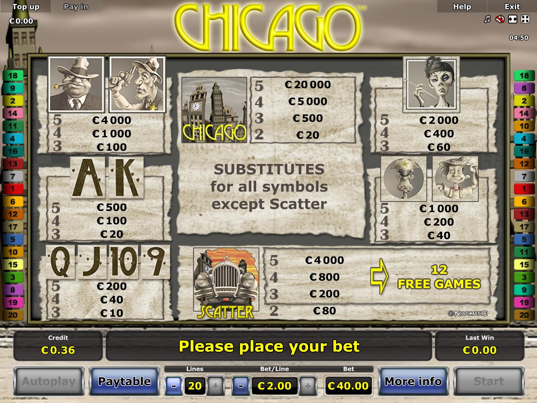 Chicago online kostenlos