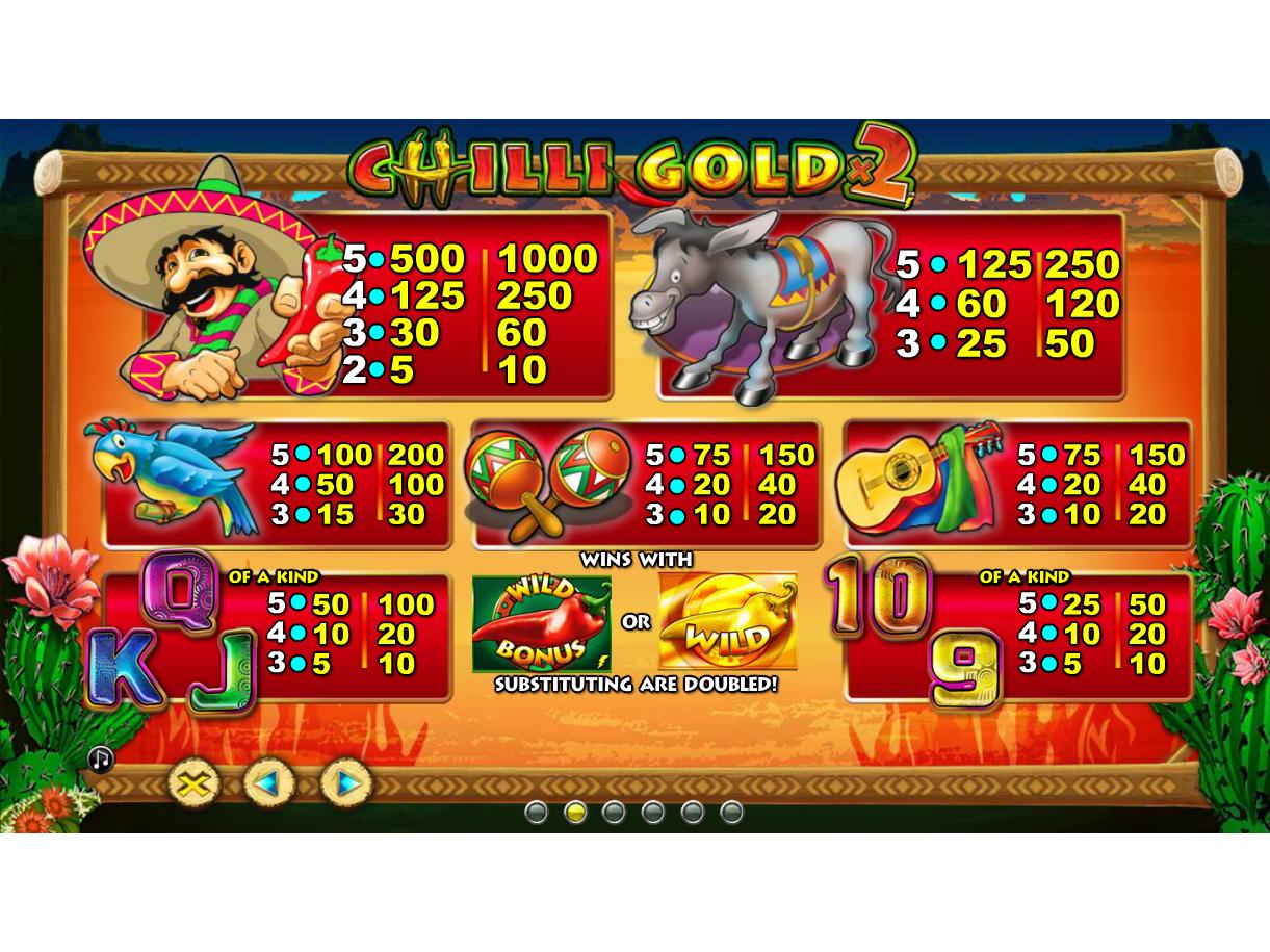 Chilli Gold 2 online gratis