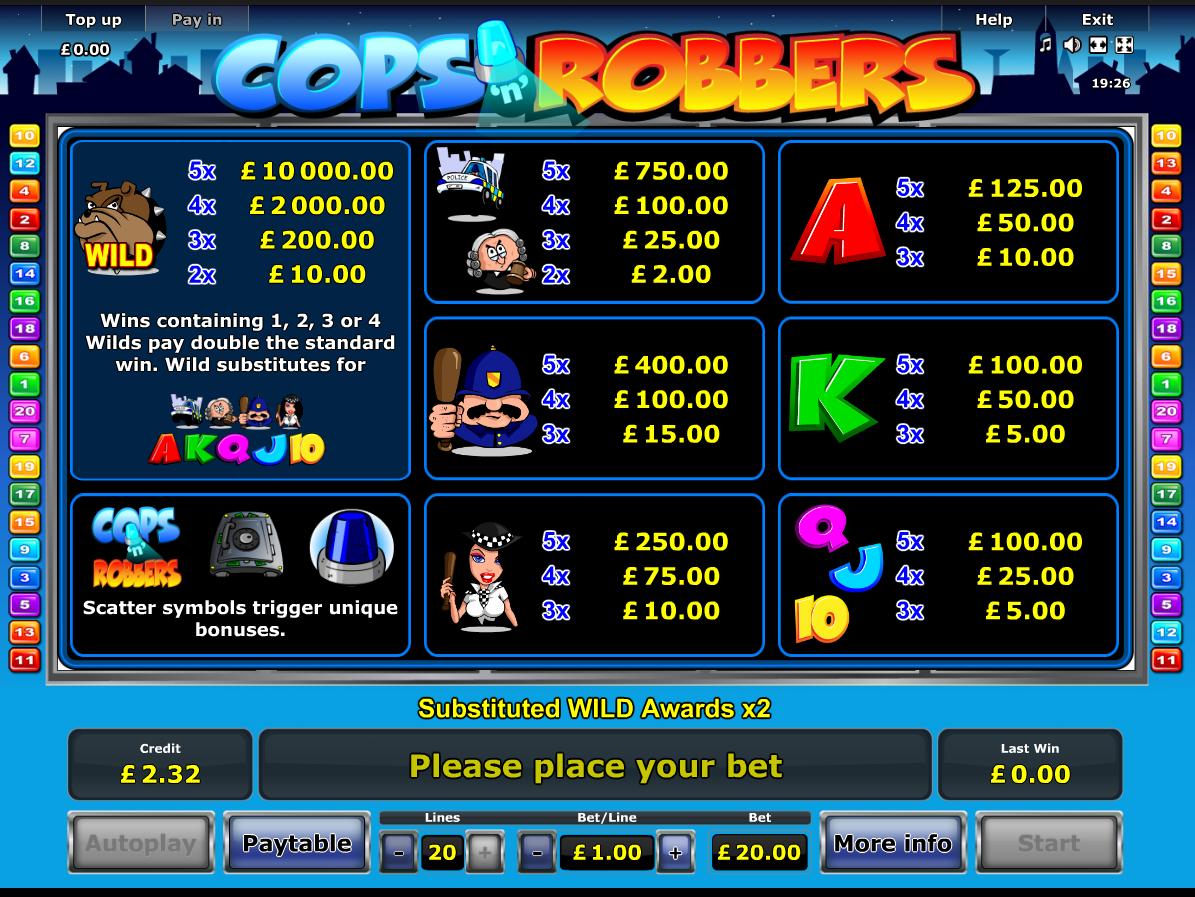 Cops 'n' Robbers online free