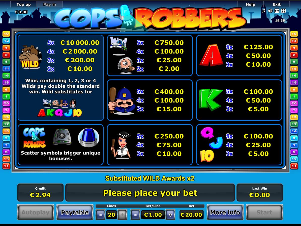 Cops 'n' Robbers online kostenlos
