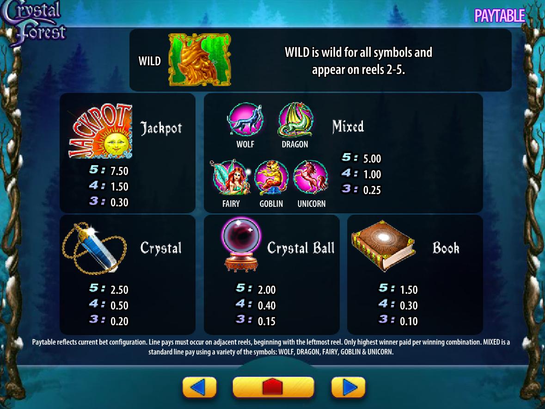 Crystal Forest online gratis