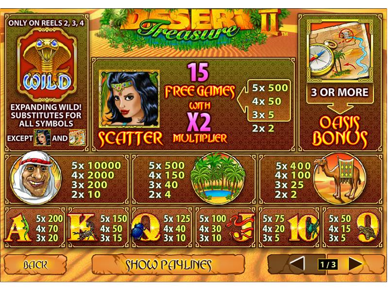 Desert Treasure II online free