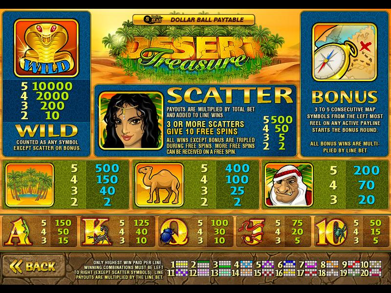 Desert Treasure online free