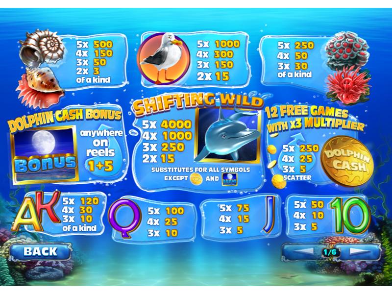 Dolphin Cash online free