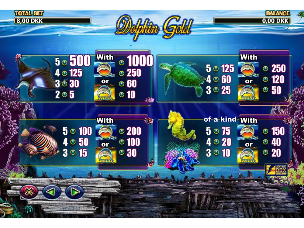 Dolphin Gold online kostenlos