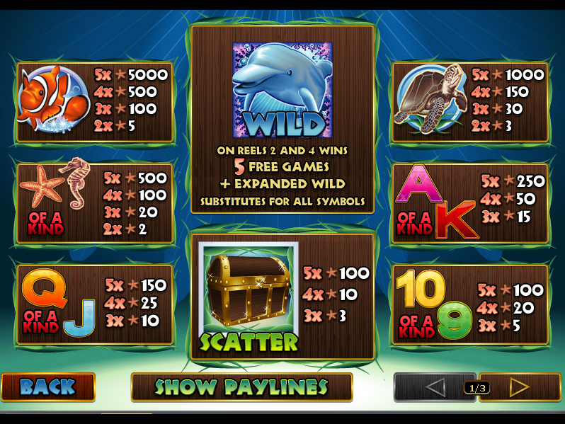 Dolphin Reef online free
