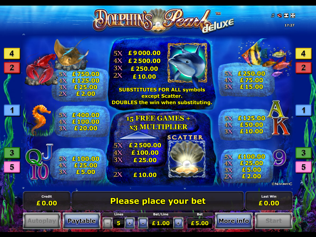 Dolphin's Pearl Deluxe online free