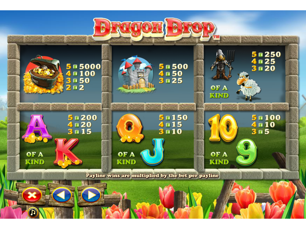 Dragon Drop online gratis