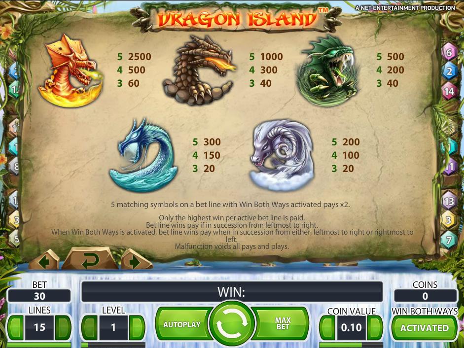 Dragon Island online kostenlos