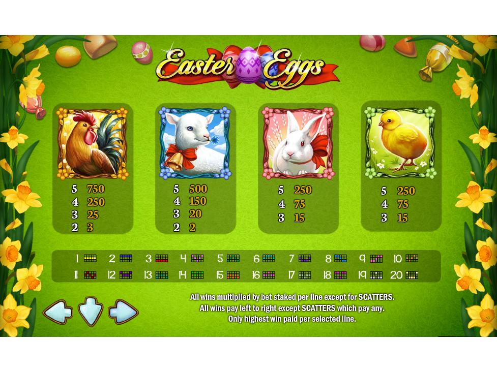 Easter Eggs online gratis
