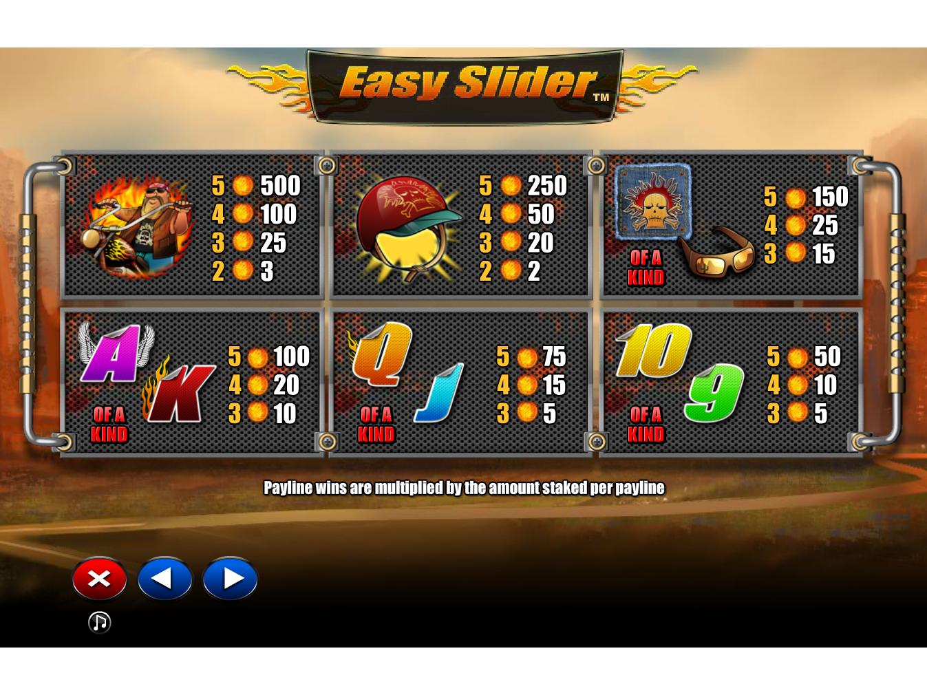 Easy Slider online gratis