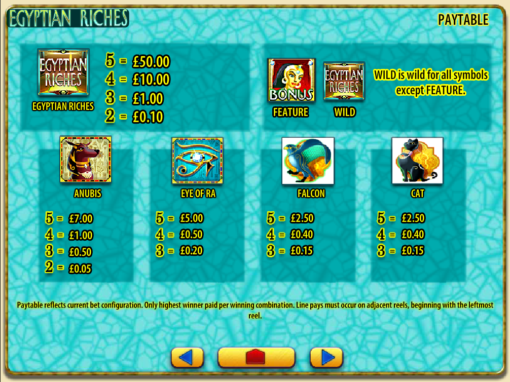 Egyptian Riches online free