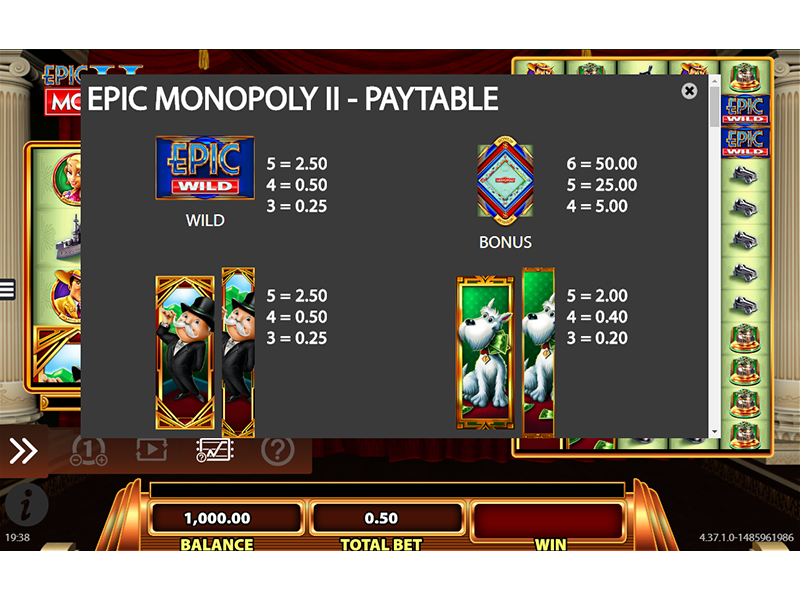 Epic Monopoly II online kostenlos
