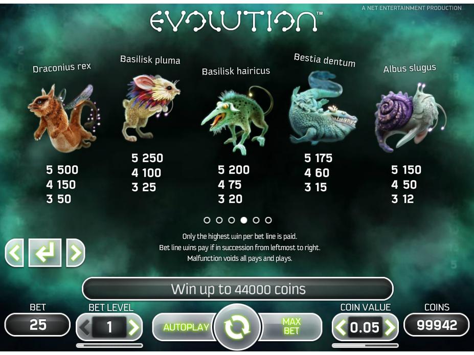 Evolution online kostenlos