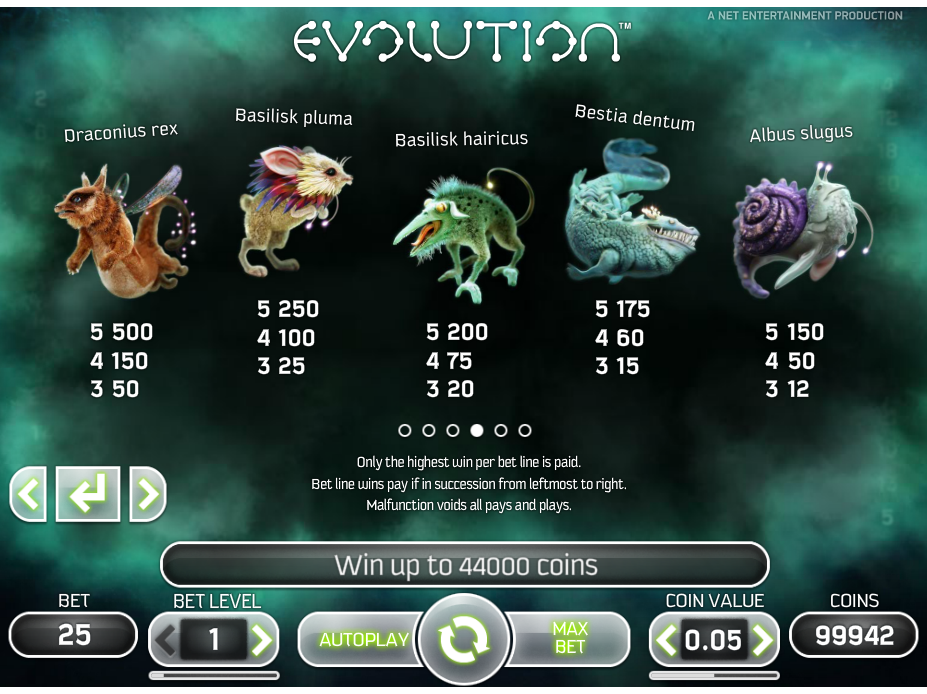 Evolution online free
