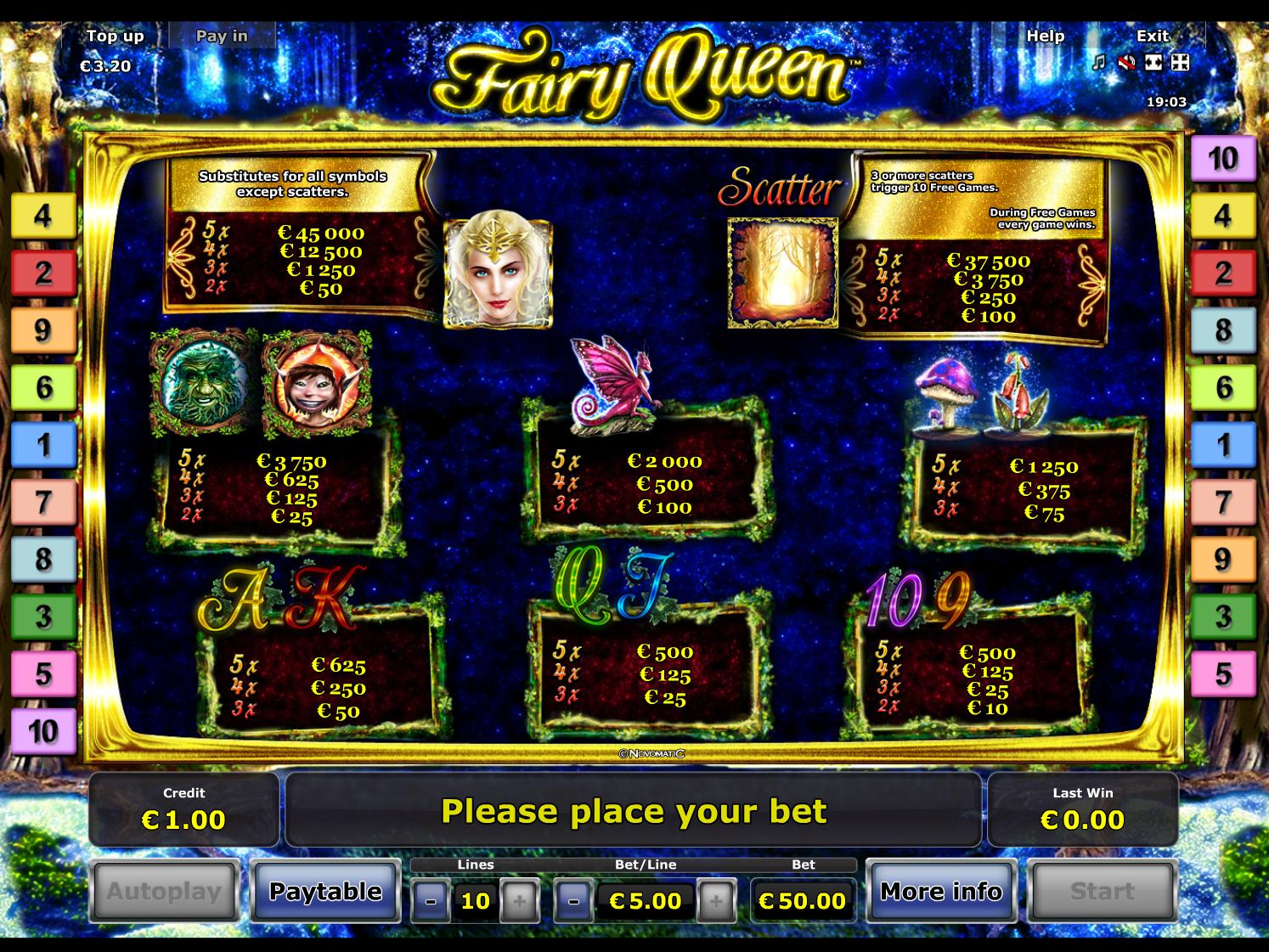 Fairy Queen online kostenlos