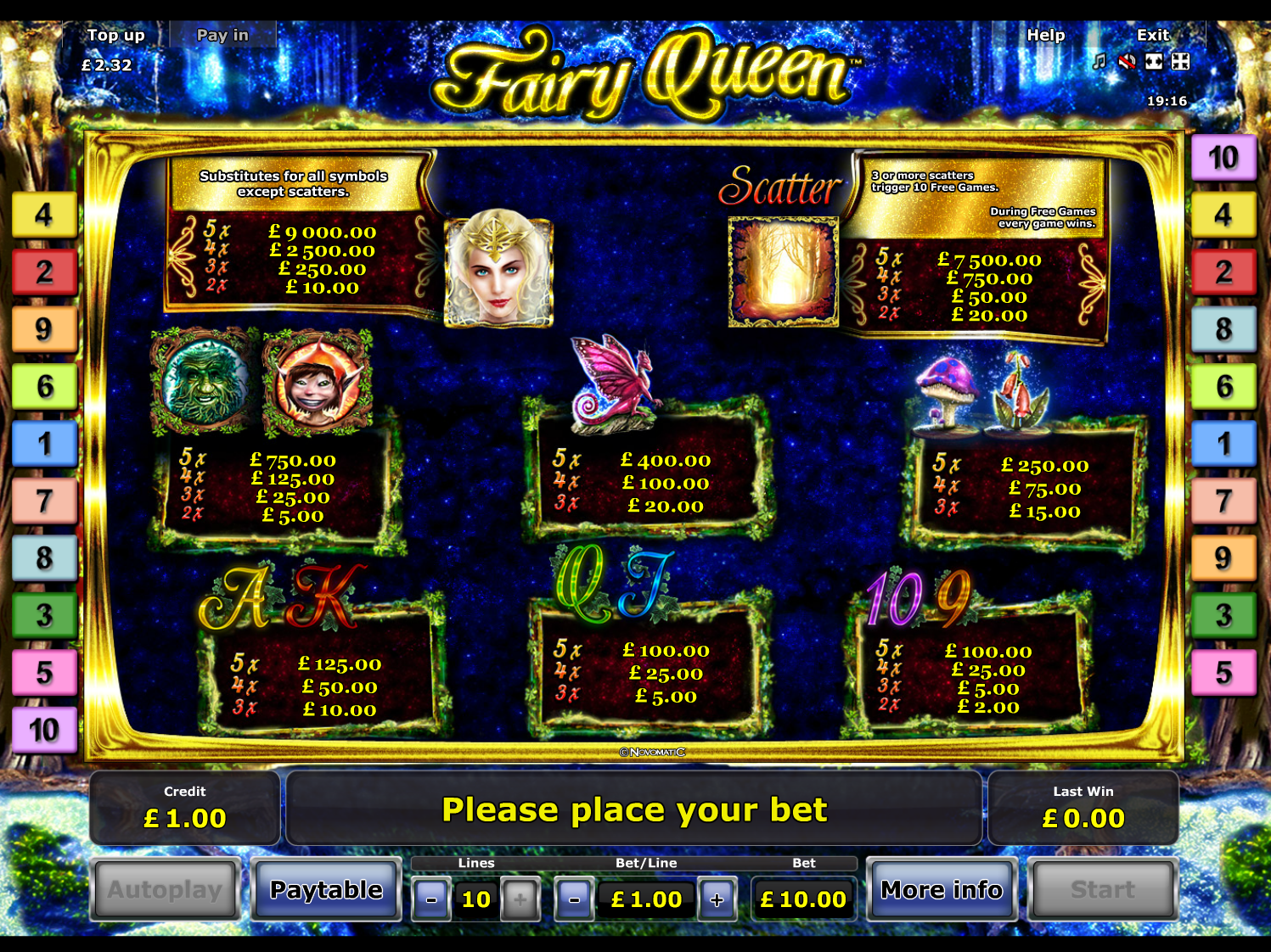 Fairy Queen online free