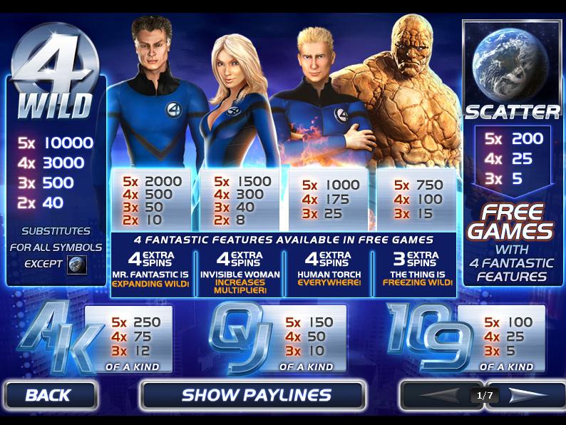 Fantastic Four online free