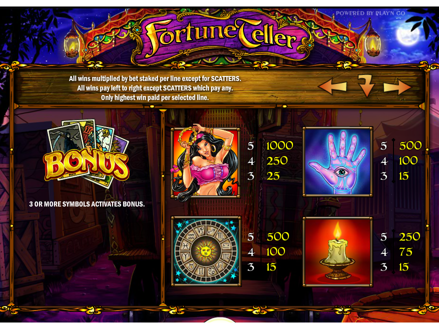 Fortune Teller PNG online gratis