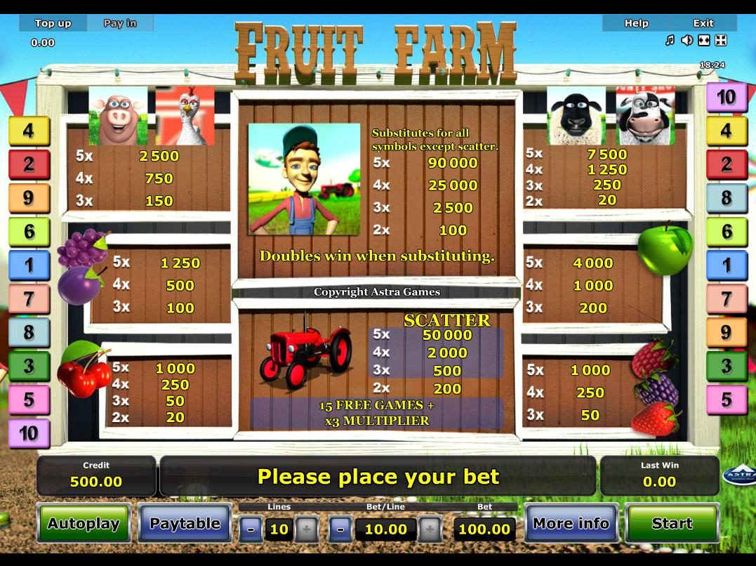 Fruit Farm online kostenlos